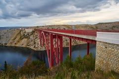 Maslenica-bridge Stock Photos