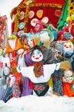 Maslenitsa - русский религиозный праздник стоковое изображение