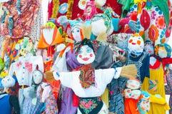 Maslenitsa -俄国宗教节 免版税库存照片