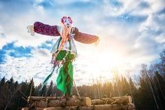 Maslenitsa doll Royalty Free Stock Photos