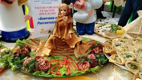 Maslenitsa pancakes. In Russia. Traditional celebrate stock images