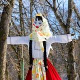 Maslenitsa - Russian religious holiday. Tula stock image