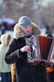 Maslenitsa (Shrovetide) in Russia Royalty Free Stock Photography