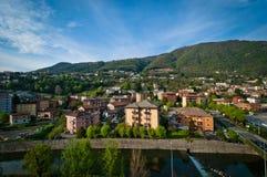 Maslianico-Stadt Stockfotos