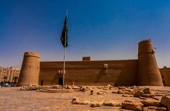 Masmakfort, een historisch oriëntatiepunt van Riyadh stock fotografie