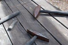 Masnonry Geräte Stockfoto
