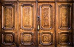 Masoński drzwiowy wejście fotografia royalty free