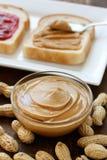 masło arachid Fotografia Stock
