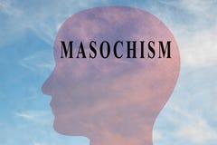 MASOCHISMUS - Geisteskonzept stock abbildung
