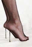 Masochistische voetamulet Stock Foto