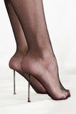 Masochistischer Fußfetisch Stockfoto