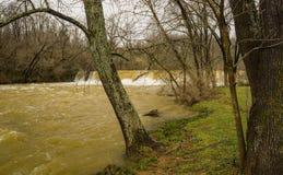 Mason Creek Dam fotografie stock