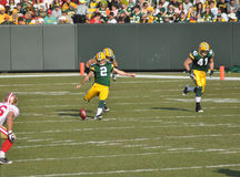 Mason Crosby of the Green Bay Packers Royalty Free Stock Images