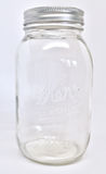 Mason Jar Empty Stockbilder