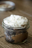 Mason jar pie Royalty Free Stock Photography
