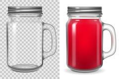 Free Mason Jar With Lid Mock Up Royalty Free Stock Photos - 194512898