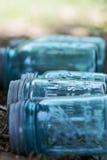 Mason jars Stock Image