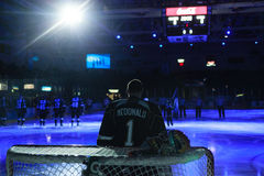 Calgary Flames Mason McDonald Royalty Free Stock Images