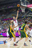 Mason Plumlee of USA Stock Photos