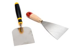 Mason's trowels Royalty Free Stock Photography