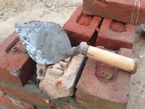 A mason tools Royalty Free Stock Images