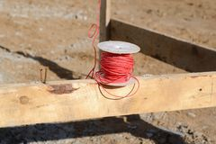 Mason twine Stock Photography
