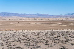 Mason Valley, Nevada ranchland. Circular patterns on ranchland, Mason Valley, Nevada Stock Images