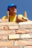 Mason at work Stock Image