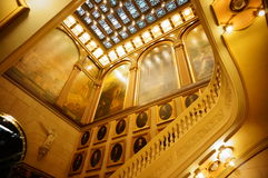 Masonic лестницы виска Стоковые Изображения