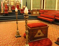 Masonic зала виска Стоковые Фото