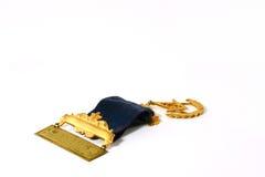 Masonic Badge. A special golden masonic badge royalty free stock image