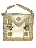 Masonic bag Royalty Free Stock Photography