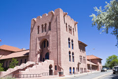 Masonic Center in Santa Fe Royalty Free Stock Photography