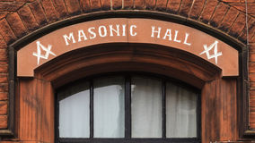 Masonic Hall Royalty Free Stock Photo