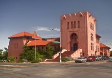 Masonic Hall in Santa Fe Stock Photos