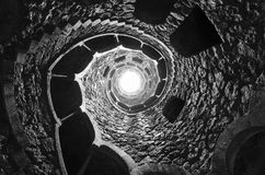 Masonic initiation well. Stock Images