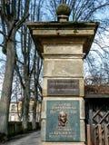 Masonic lodge Bayreuth - Eleusis zur Verschwiegenheit royalty free stock images