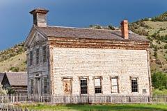 Masonic Lodge & School House Royalty Free Stock Photography