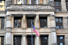 Masonic temple Royalty Free Stock Images