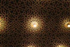 Masonic temple ceiling Royalty Free Stock Photography