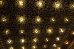 Masonic temple ceiling Stock Photo