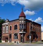 Masonic Temple/Exchange State Bank Stock Photography