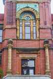Masonic Temple in St. John's, Canada. Monumental building serving as Masonic Temple situated in Saint John's, Newfoundland Royalty Free Stock Image