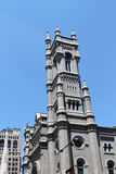 Masonic temple tower philly Royalty Free Stock Photo