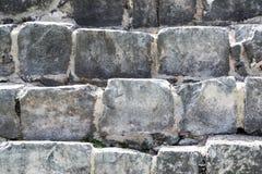 Masonry большого камня Пирамида Kukulkan в Chich Стоковое Фото