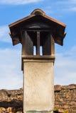 Masonry и кирпич печной трубы Стоковые Фотографии RF