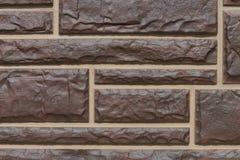 Masonry панели пластичный имитационный Стоковая Фотография
