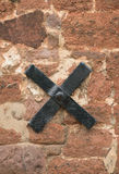 Masonry Anchor Royalty Free Stock Photography
