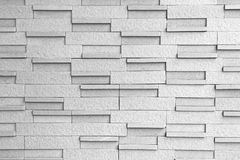 Masonry Block Wall Background Black and White Stock Photos