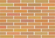Masonry of brown bricks different shades. Stock Photos